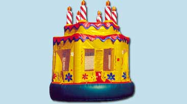 Birthday Cake Bounce House - $199