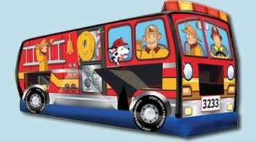 Fire Truck 3 in 1 - $325