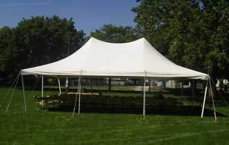 20x30 Pole Tent - $500