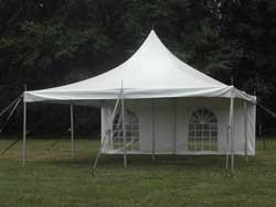 20x20 Pole Tent - $400